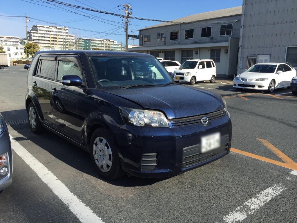 福岡トヨタルミオン車検